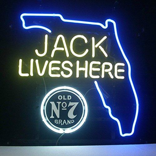 """HOT Eagle 17""""x 14"""" Jack Daniels Jack Lives Florida Whiske..."""