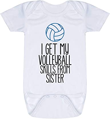 Volleyball Baby /& Infant T-Shirts Player in Training Colors /& Sizes