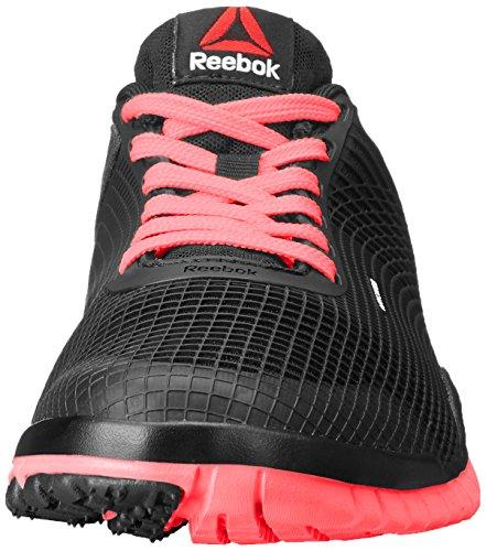 Reebok Dames Zquick Tr Cross-training Schoen Zwart / Punch Roze