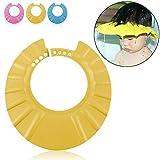 Ibepro® Sicuro Shampoo Doccia balneazione protezione morbido cappello per bambini, neonati, bambini e bambini Tenere L' acqua al di fuori gli occhi e viso