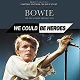 Bowie - We Could Be Heroes: Limited Edition on Blue [VINYL]
