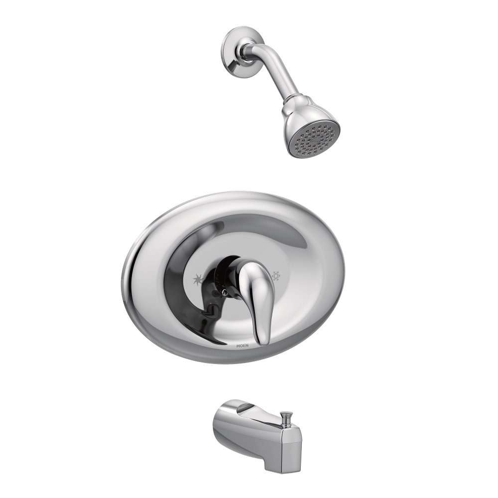 Moen TL2369EP Posi-Temp Shower Only Valve Trim, 1, Polished Chrome