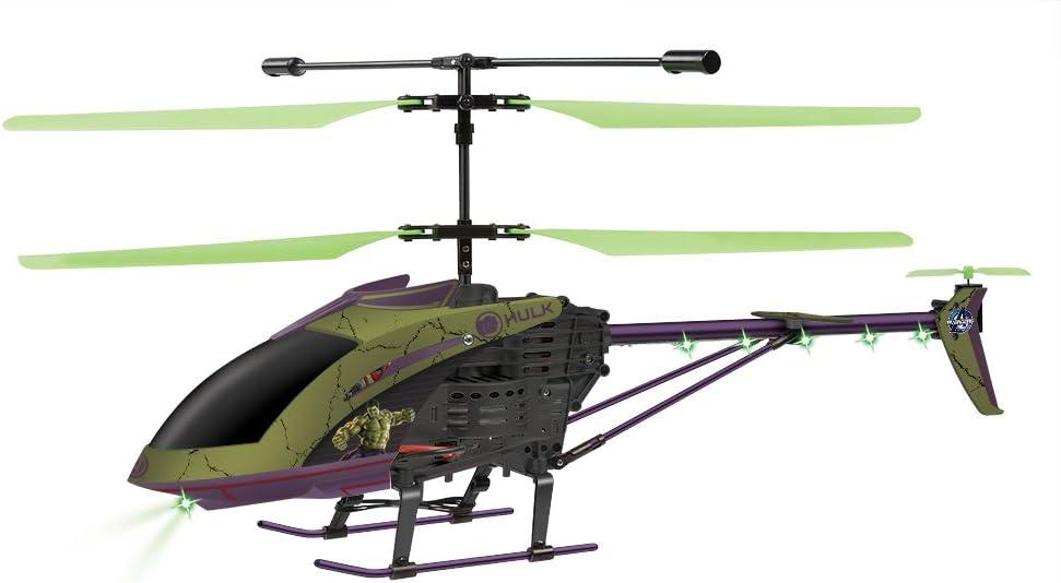 World Tech Toys マーベル・アベンジャーズ エイジ・オブ・ウルトロン ハルク 3.5チャンネル RCヘリコプター 25.5 x 4 x 9.75 33731