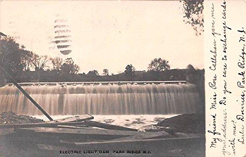 Electric Light Dam Park Ridge, New Jersey postcard