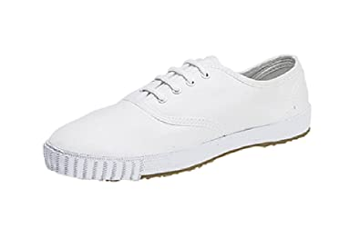 347927c7292 Image Unavailable. Image not available for. Colour  Mx913G Mens White Old  School Retro Plimsolls Plimsoles Pumps ...