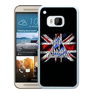 Def Leppard White Personalized Recommended Custom HTC ONE M9 Phone Case