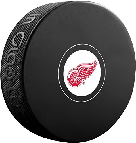 Detroit Red Wings Sher-Wood NHL Souvenir Autograph Hockey - Detroit Hockey Wings Red Puck