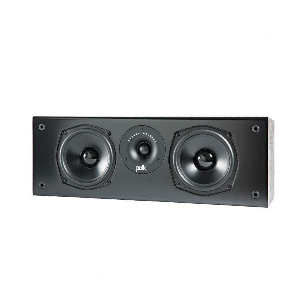 Polk Audio T30 Center Channel Speaker (Black)