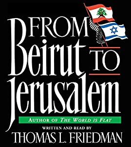 From Beirut to Jerusalem Audiobook
