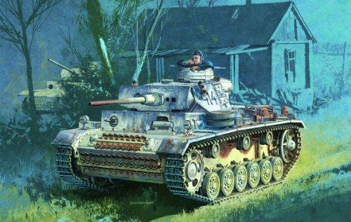 Mufflers 60 Series - Dragon Models 1/72 Pz.Kpfw.III Ausf.M with Wading Muffler - Armor Pro Series