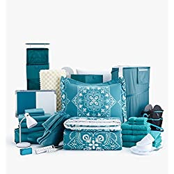 60pc Doin' It Big - Twin XL College Dorm Room Bedding Value Bundle