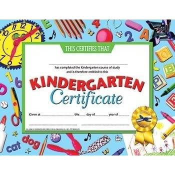 Amazon.com : Trend Enterprises Kindergarten Certificates, 30/pkg ...