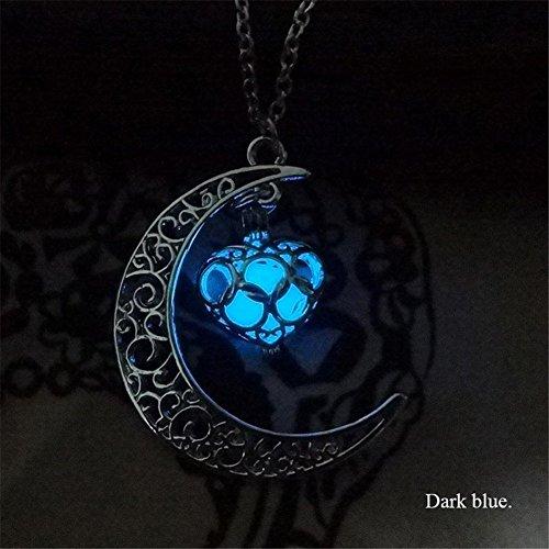 keyzone-women-fluorescence-glow-in-the-dark-crescent-moon-heart-necklace-jewelry-dark-blue