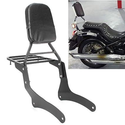 GZYF respaldo trasero para motocicleta con almohadilla de ...