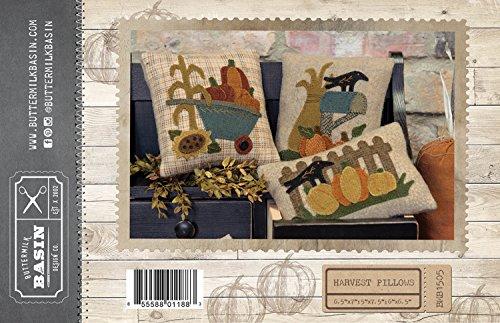 Harvest Pillows - by Buttermilk Basin - Wool Applique Pattern -