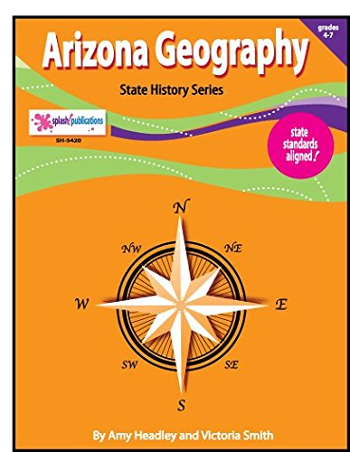 Arizona Geography Unit (EIGHT Literacy-Based Lessons) (Geography Unit)