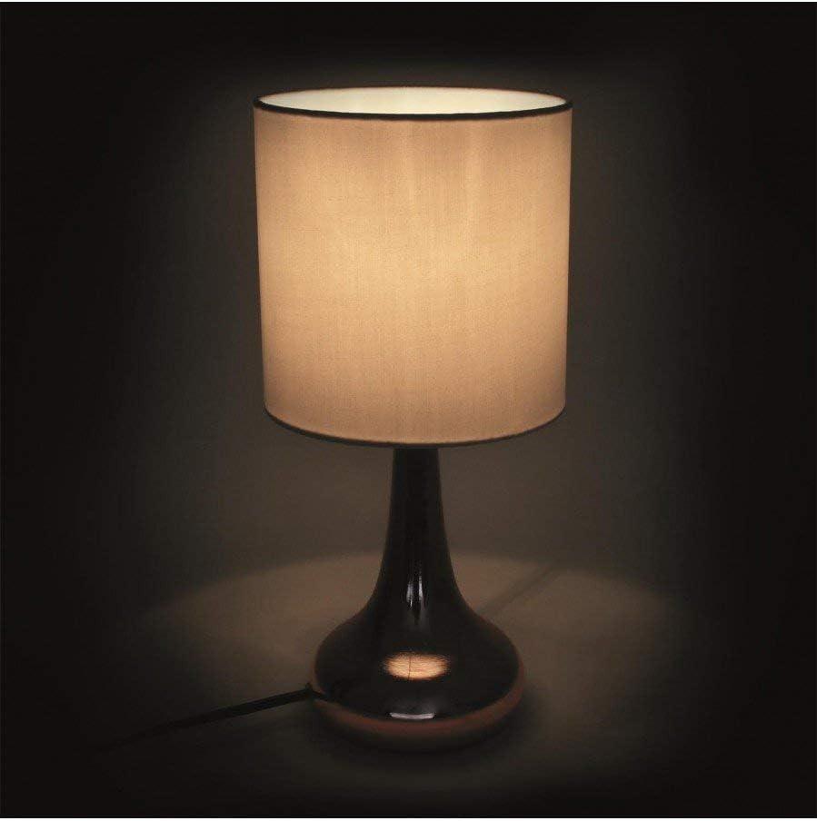 THE HOME DECO FACTORY HD3334 Lampe Métal NoirCuivre
