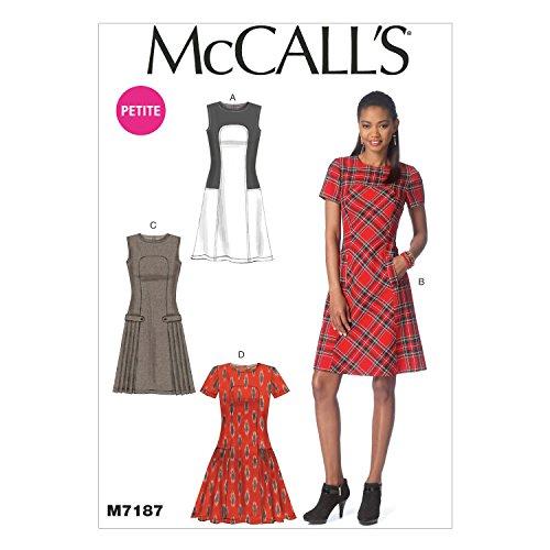 Mccall Pattern McCall's Misses'/Miss Petite Dresses - Siz...