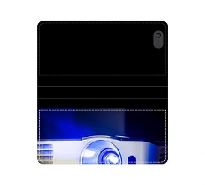 Caja de la carpeta de cuero protector proyector para documentos ...