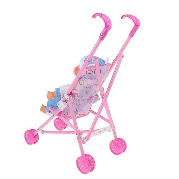 Amazon.com: Fityle - Mini carrito de bebé plegable con ...
