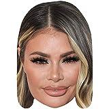 Celebrity Cutouts Chloe Sims (Make Up) Big Head. Larger Than Life mask.