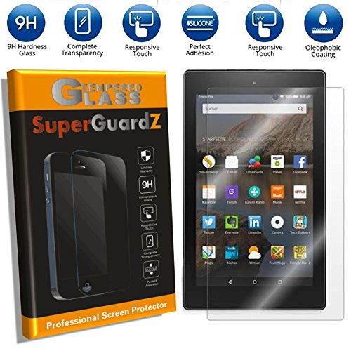 For Amazon Kindle Fire HD 6 (4th Gen, 2014) - SuperGuardZ Tempered Glass Screen Protector [1-PACK], Anti-Scratch, Bubble-Free, Shatterproof [l