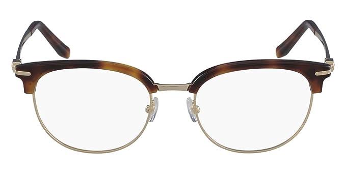 466bb98653 Amazon.com  Eyeglasses FERRAGAMO SF 2164 271 HAVANA GOLD  Clothing