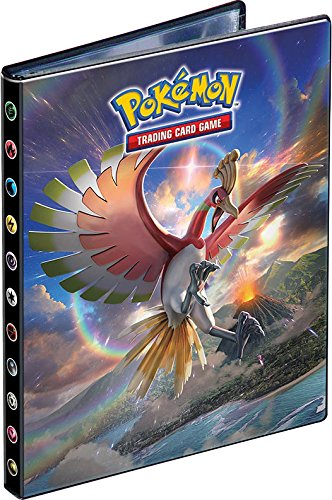 (Ultra Pro 4-Pocket Portfolio Pokemon Sun Moon Ho-Oh & Marshadow SM3)