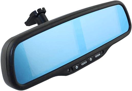 Auto Innenraum Rückspiegel Eingebauter 4 3 Zoll Tft Lcd Monitor Mit 4 Kanal Videoeingang Auto