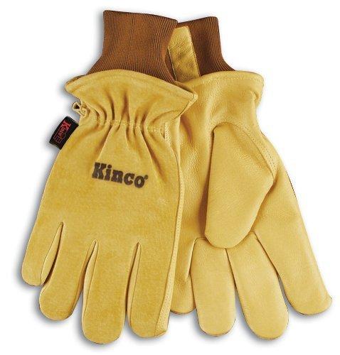 Grain Pigskin (Kinco 035117009578 94Hk Split Grain Pigskin Ski Glove with Grain Pigskin Leather Palm, XX-Large, Single Pair by KINCO INTERNATIONAL)