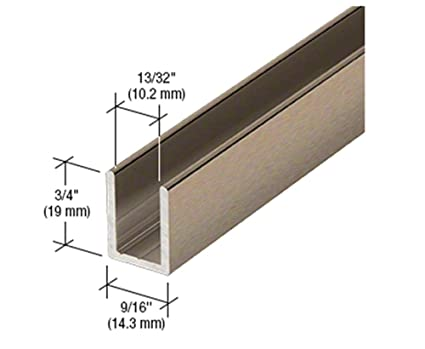 150mm Stylish Modern House Number 8 Brushed Bronze Aluminium Composite 6 in