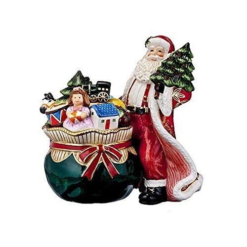 Waterford Santa's Delivery Cookie Jar by Waterford