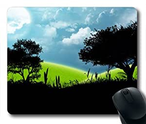 The Sky Looks Different Today Oblong Shaped Mouse Mat