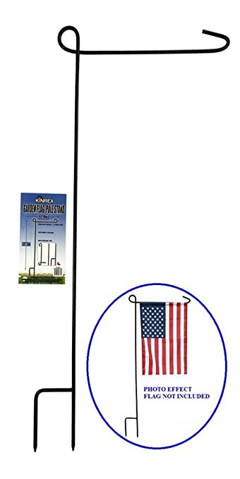 garden flag holders. KINREX Garden Flag Stand - Pole Holder 35\u0026quot; Tall X Holders