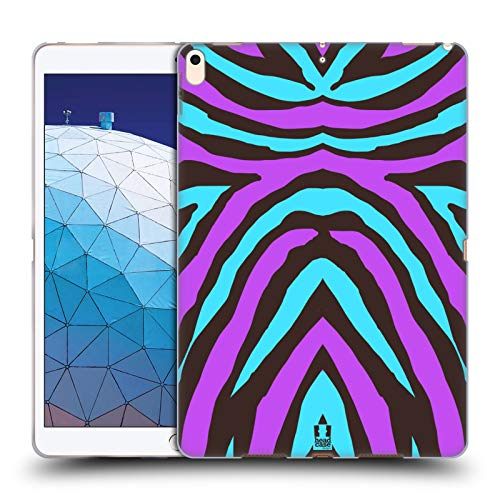 Head Case Designs Crazy Stripes Mad Print 2 Soft Gel Case Compatible for iPad Air -