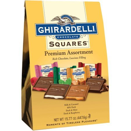 Ghirardelli Premium Assortment Chocolate Squares 15.77 oz WLM (Chocolate Ghirardelli Squares)