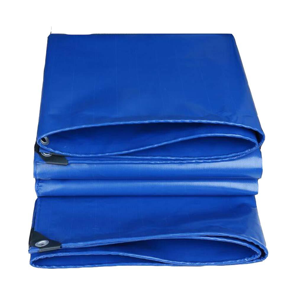 DALL ターポリン 防水 老化防止 レインクロス 日焼け止め 防湿性 シェード 耐寒性 (色 : 青, サイズ さいず : 4×5m) 4×5m 青 B07L1H4QCX