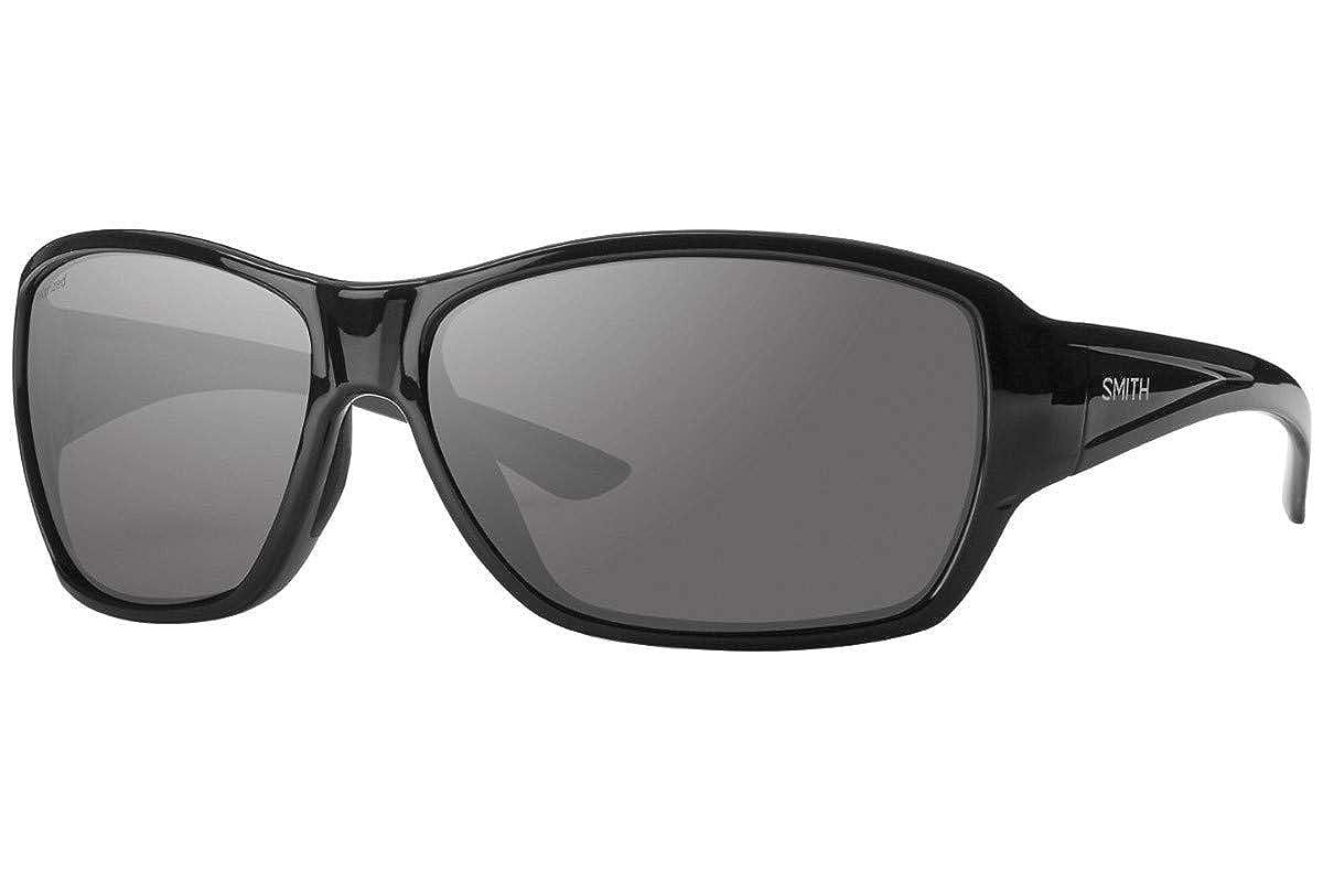 e280b5af2d722 Amazon.com  Smith Purist Sunglasses Black w Polarized Grey Green 59mm Lens  D28 Purist S  Clothing