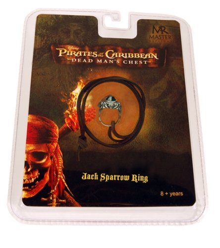 Jack Sparrow Ring Replica - Pirates of the Caribbean Jack Sparrow ring replica