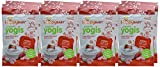 Image of Happy Baby Organic Yogis Freeze-Dried Yogurt & Fruit Snacks Strawberry, 1 Ounce Bag (Pack of 8) (Packaging May Vary)