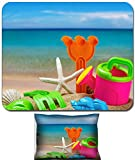 Liili Mouse Wrist Rest and Small Mousepad Set, 2pc Wrist Support toys for childrens sandboxes against the sea and the beach 28412835