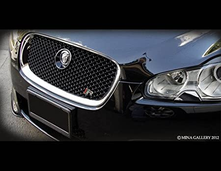 NEW GENUINE Jaguar XF Chrome Grille 2007-2011