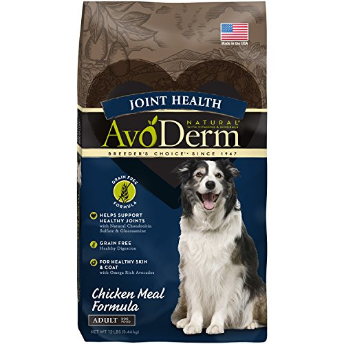 AvoDerm Joint Health Grain Free Dry Dog Food, Chicken Meal R