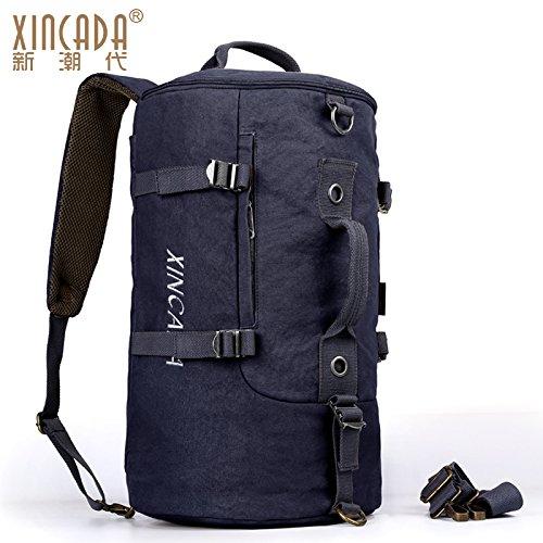 lona bolsa SunBao bolsas de hombro y hombres Negro deporte bolsa multifunción gran viajes de de de hombro capacidad lavable de Manual rollo viajes negro paquetes de de ocio C0qtwP