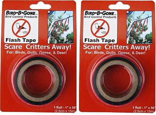 Bird B Gone MMFT-050 1' X 50' Bird Deterrent Flash Tape