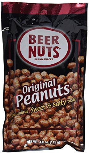 Beer Nuts Brand Original Peanuts, 4 Oz Bag (Pack of 6)