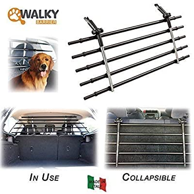 Image of Pet Supplies Walky Barrier Folding Universal Auto Pet Safety Barrier K9 Guard Pet Safety Barrier Fence