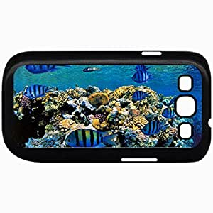Fashion Unique Design Protective Cellphone Back Cover Case For Samsung GalaxyS3 Case Fish Black