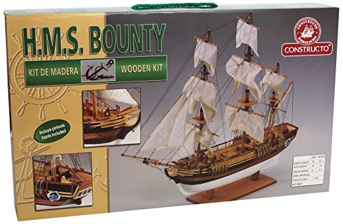 Constructo D80621 - Holzbausatz H.M.S. Bounty