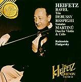 Heifetz Collection, Vol. 44- Ravel: Trio / Sonatine